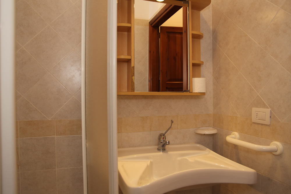 Bathroom of the Bungalow in San Vito lo Capo